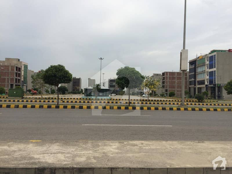 Cca1 Block 8 Marla Hot Location Facing Parking Plot For Sale In Phase 6 Dha Lahore