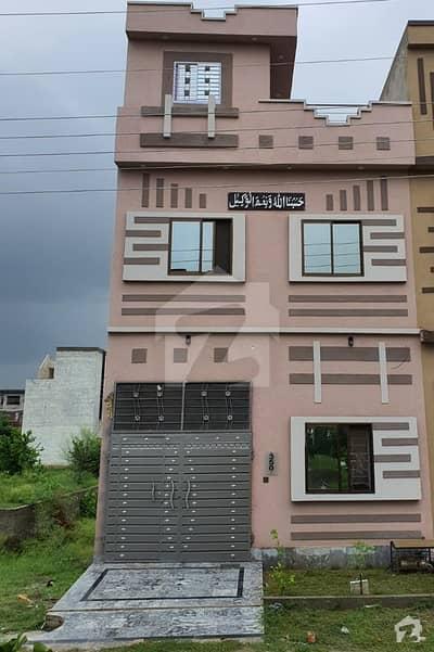 ایس اے گارڈنز جی ٹی روڈ لاہور میں 3 کمروں کا 3 مرلہ مکان 60 لاکھ میں برائے فروخت۔