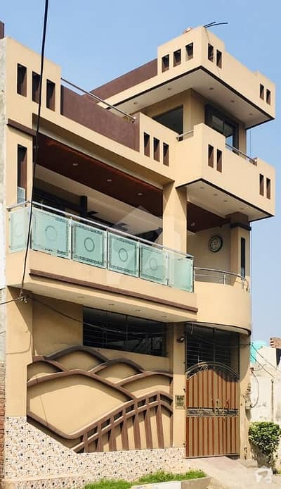 6 Marla Double Storey House For Sale In Aamir Town Lahore