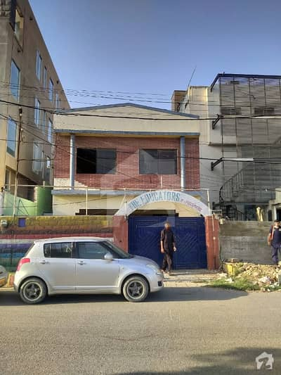 Clifton Block 5 400 Yard Double Storey House For Commercial Purpose Rent