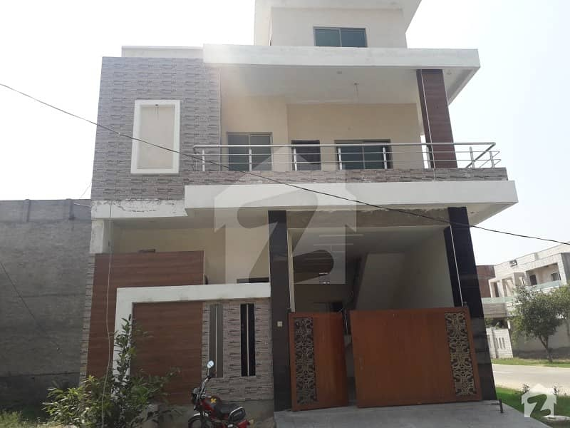 4 Marla Double Storey Corner House In Model City 1