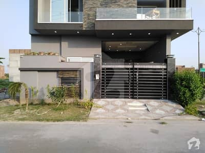 4.75 Marla Corner House For Sale In Canal Valley Faisalabad