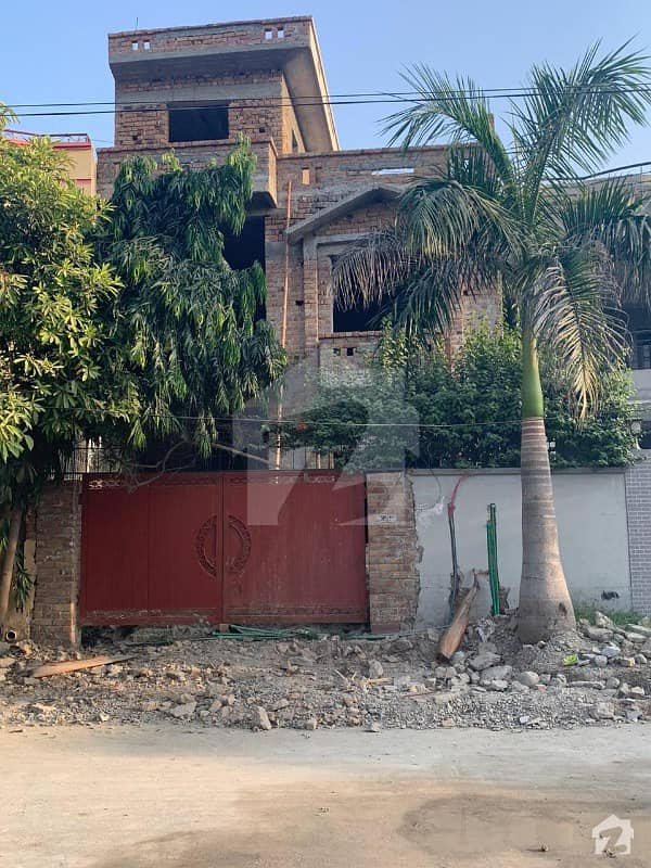 Grey Structure Double Storey House Available For Sale