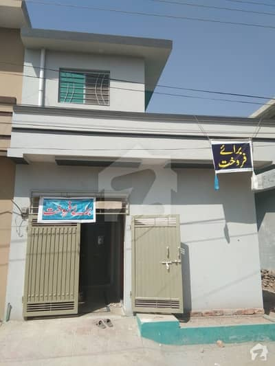A Lush Carner 680 Square feet Single Story House For Sale in Wakeel Colony Near By in Airport Housing society  Rawalpindi