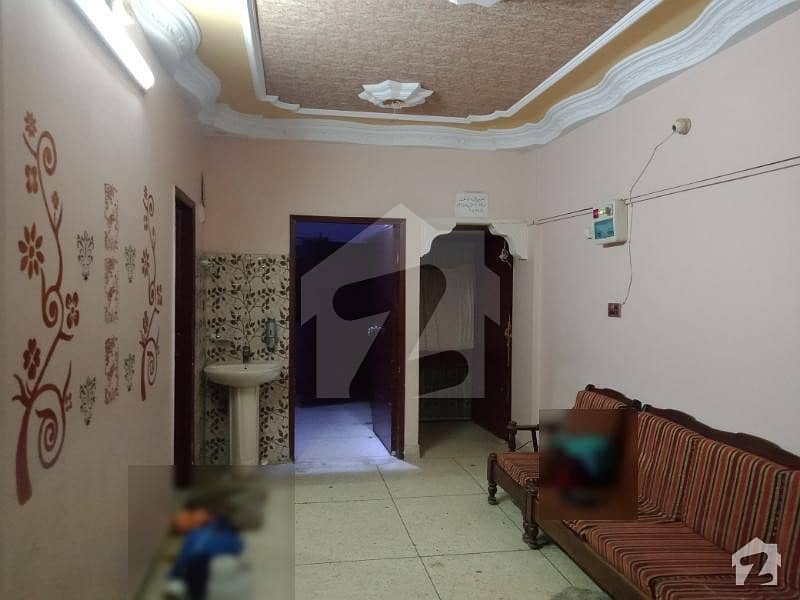 2 Bed Drawing Dining Well Decorated Flat For Rent Nazimabad 3