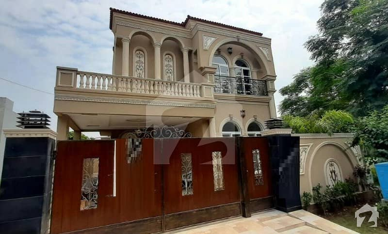10 Marla Brand New Spanish Proper Double Unit House For Sale In Phase 8 Air Avenue Lahore
