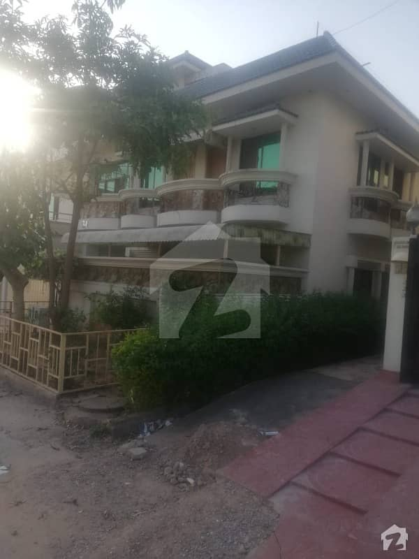 35x70 Sq. Feet Pindi Face Street Corner House Available For Sale