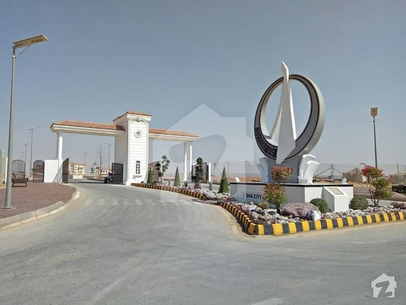 500 Sq Yd Residential Plot Is Available For Sale In Dha City Sector 5b