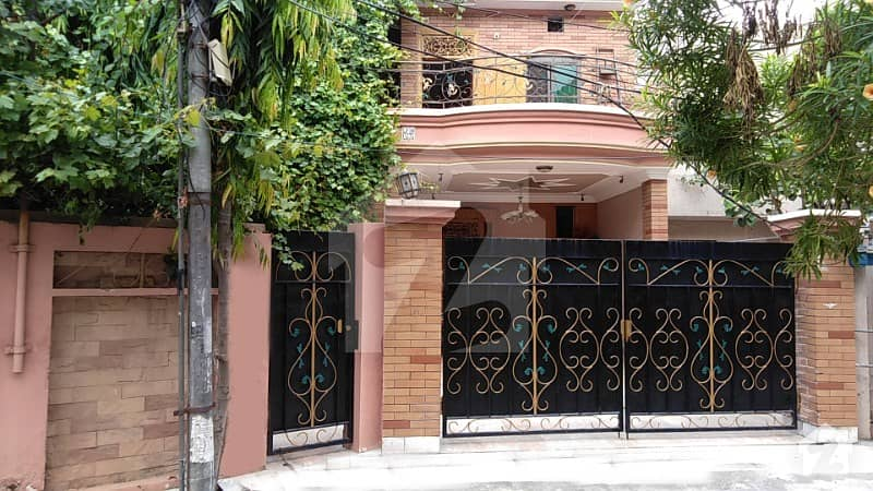 10 Marla Semi Commercial House Is Available For Sale At Muslim Town Near Punjab Collage At Prime Location