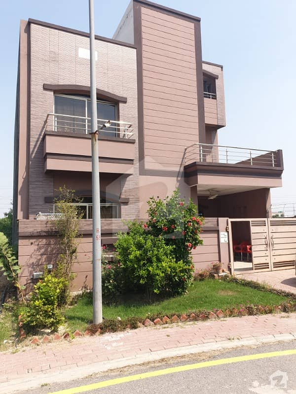 7 Marla Corner House For Sale In Dream Gardens