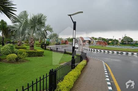 Bahria Town Lahore 5 Marla Plot Available For Sale On Main Boulevard