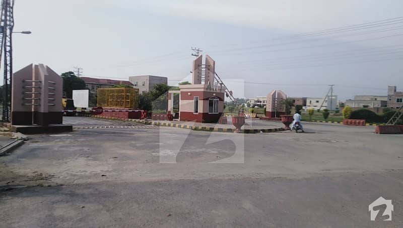 One Kanal Plot For Sale Back Of Main Road