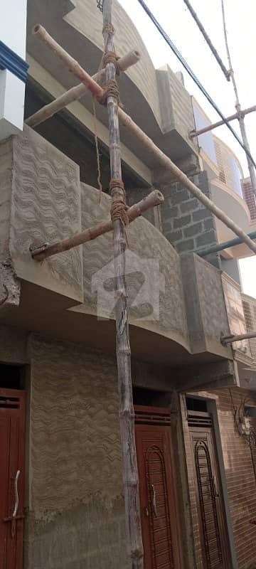 لانڈھی کراچی میں 5 کمروں کا 3 مرلہ مکان 60 لاکھ میں برائے فروخت۔