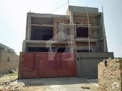 7 Marla Double Storey Under Construction House with complete wiring For Sale In H Block Of Government Employees Cooperative Housing Society Bahawalpur