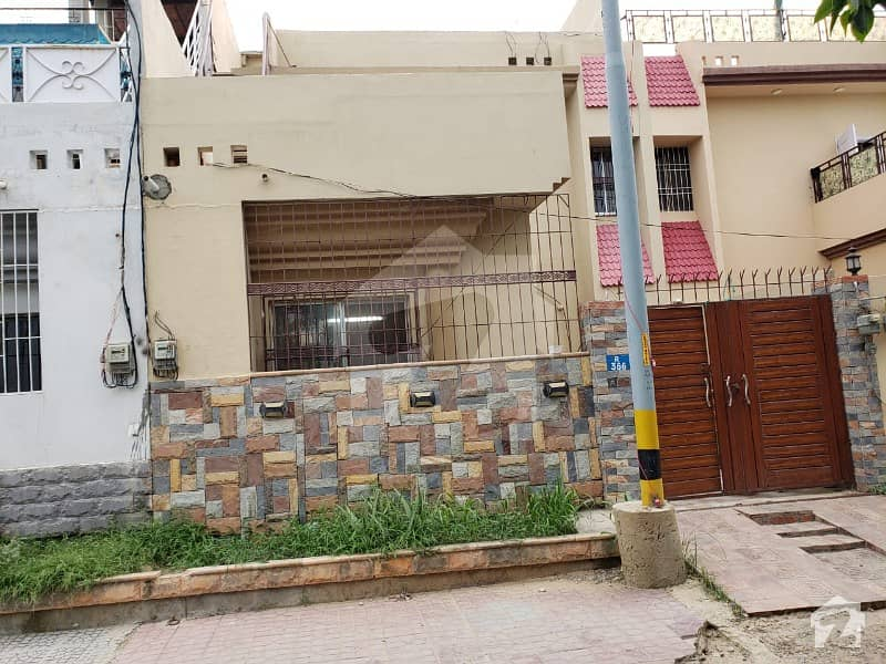 120 Sq Yard Double Storey Bungalow Available For Sale In Al Hira New City On Saadi Road