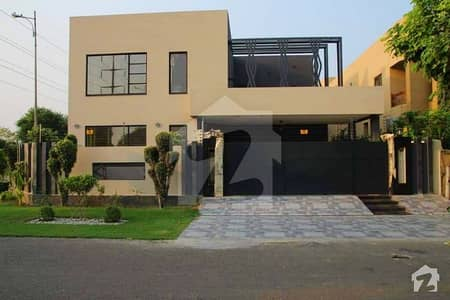 Corner Fully Basement Facing Park 21 Marla Brand New With Snooker Table Gym Home Theater Bungalow For Sale In Dha Phase 6 Lahore