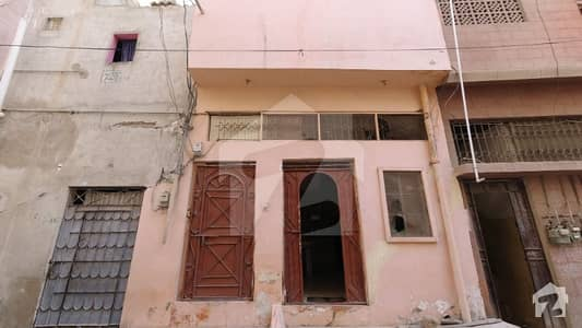 45 Square Yard G+1 House For Sale In Akhtar Colony Karachi