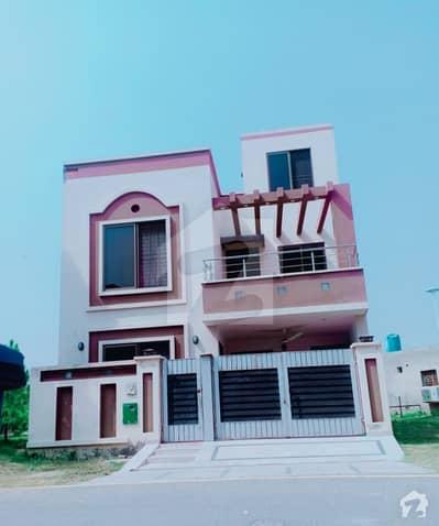 Bahria Nasheman 6 Marla Corner Park Facing  Good Location House.