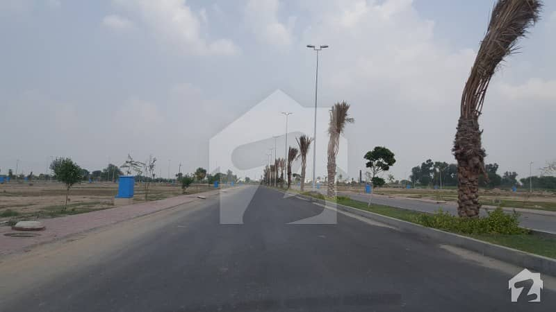 23 Marla Corner Plot In Bahria Town Lahore Ideal Location