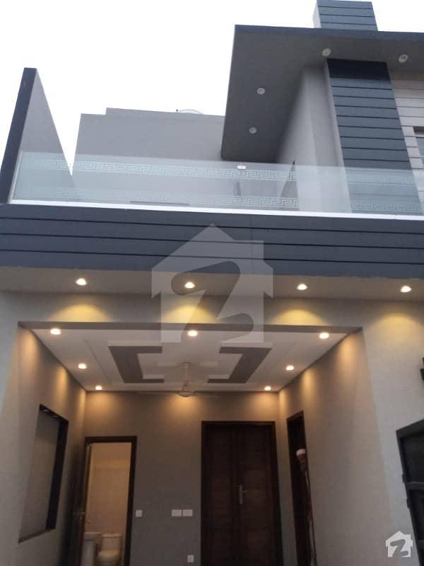5 Marla Brand New Luxury House For Sale Ideal Location Near Market Park Masjid Banks School