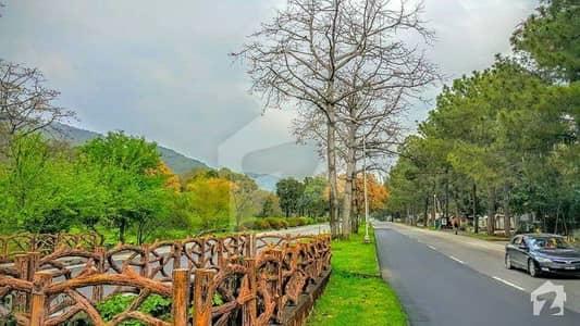 Main Margalla Road Prime Location Posh Area Plot Is Available For Sale