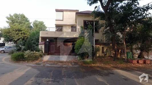 9.25 Marla Corner House For Sale In Usman Block Of Bahria Town Lahore