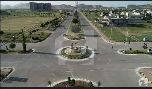 Plot Available For Sale D Block Size 8 Marla In Multi Garden B17 Islamabad