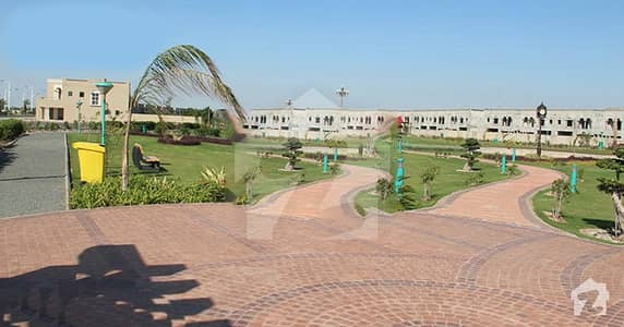 5 Marla Commercial Plot File Is Available For Sale In Nishtar Block Bahria Town Lahore