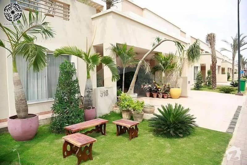 Brand New 200 Yards Full Paid Precinct 10 Villa For Sale In Bahria Town Karachi