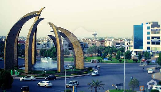 Facing Canal Road 8 Marla Commercial Plot For Sale In Aa Block Bahria Town