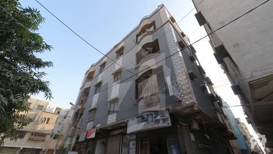 1st Floor West Open 2 Side Corner Flat Is Available For Sale In Azizabad Federal B Area Karachi
