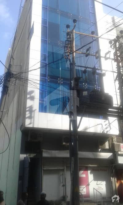 Defence 100 Sq Yards Commercial Building Slightly Used For Sale In Shahbaz Commercial Area