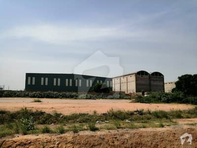 CP 19 02 Acre Industrial Plot Is Up For Sale In South Western Zone Wear House Category Of Port Qasim Industrial Area Av