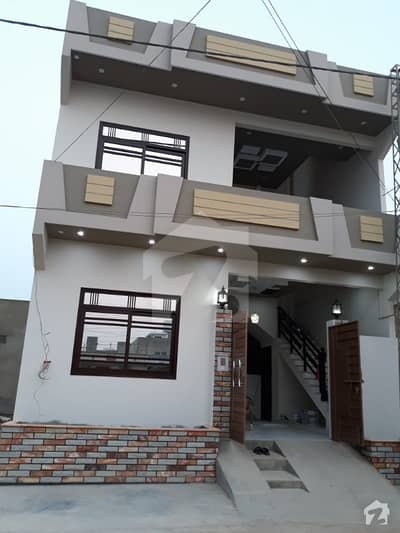 120 Yards Brand New Double Storey House Block5 Saadi Town