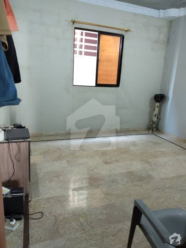 495  Square Feet Flat Situated In Liaquatabad For Sale