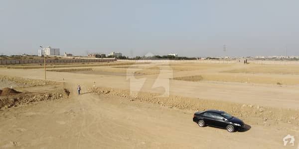 Andaleeb Society 120 Sq Yd West Open Plot For Sale