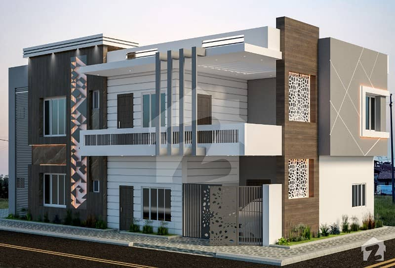 5 Marla Semi Finished New House For Sale