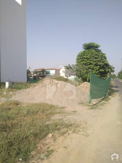 4 Marla Commercial Plot For Sale A Block Phase 5 DHA Lahore