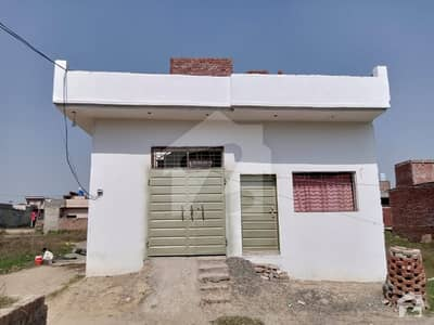 Good Opportunity For Small Family 3 Marla Single Storey Corner House For Sale