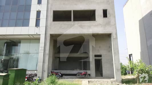 4 Marla Commercial Grey Structure Plaza For Sale On Main Boulevard Dha Phase 6 Lahore