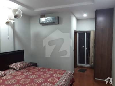 1 Bed Room Fully Furnished Apartment In Family Building