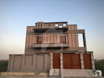 400 Sq Yards Double Storey House Is Available For Sale