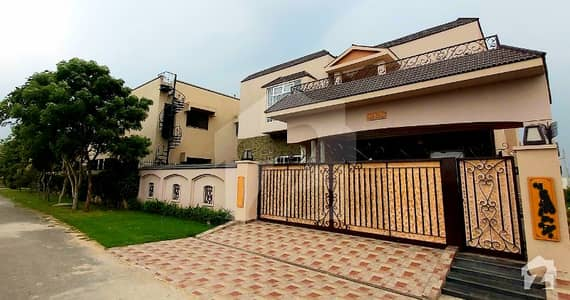 01 Kanal Near To Park Brand New Bungalow With Basement For Sale In State Life Society