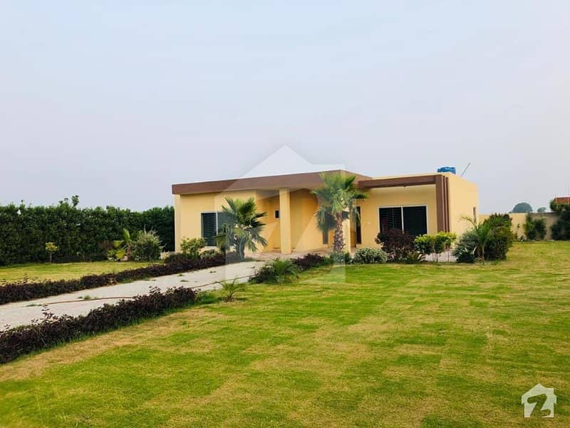 Suffa Estate 4 Kanal Farm House Is Available For Sale In Barki Road