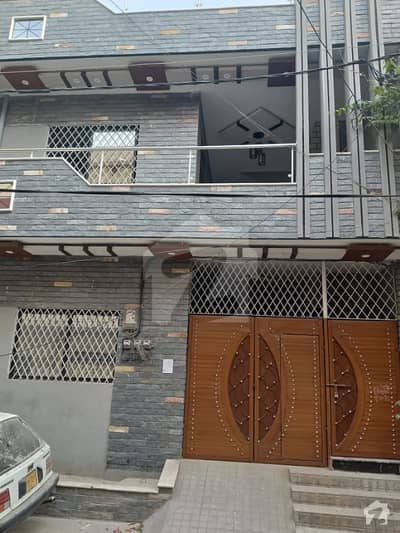 120 Sq Yd Triple Storey House In Rashid Minhas Road
