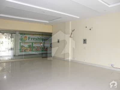Super Hot Location Ground Floor Shop For Rent On Main Boulevard Commercial In Orchard Heights Central District Bahria Orchard Lahore