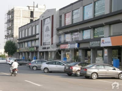 Ground Floor Corner Shop 312 Square Feet On Main Boulevard Commercial For Rent In Central District Bahria Orchard Lahore