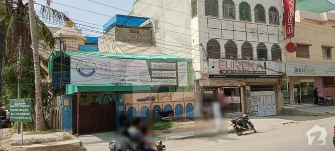 Commercial Old Constructed House For Sale 2430  Square Feet At Good Location On Main Abul Hassan Isphani Road