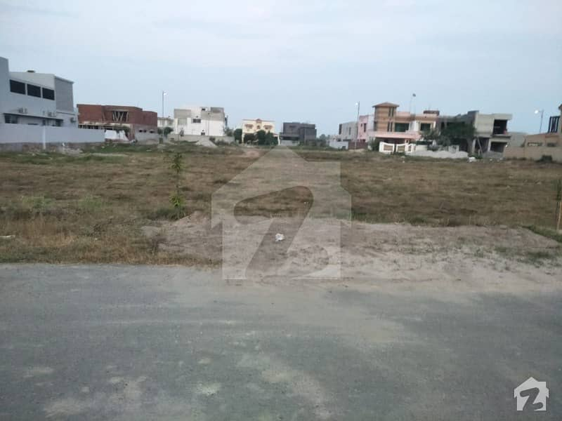 D Block 65 Marla Good Location Plot For Sale In DHA 9 Town Lahore