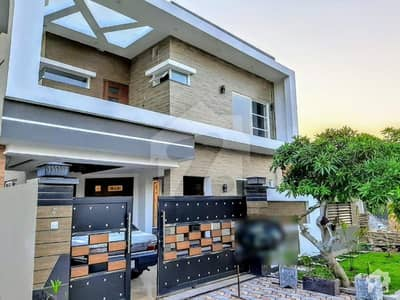 Block H 10 Marla  Brand New House Luxury House For Sale